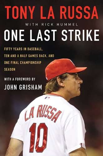 2011 was a remarkable season for the Cardinals. Here, their Manager, Tony la Russa tells it from his perspective. If you are a Cardinal fan this one book you definitely want in your Library.